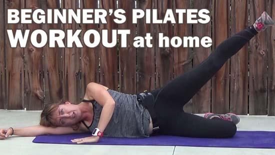 15 Minute Beginner Pilates Workout