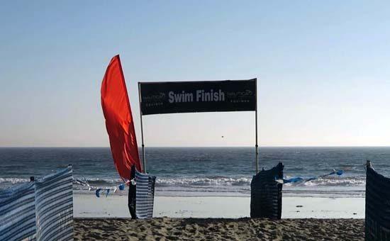 my first triathlon swim