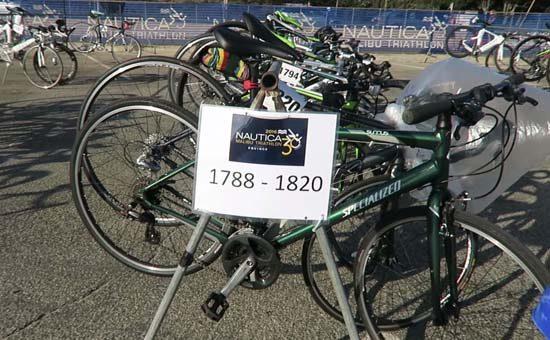 my first triathlon bike