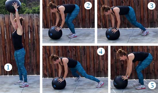 medicine ball exercises workout