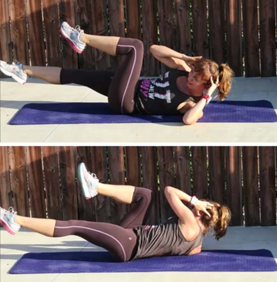 bicycle abs no excuses bootcamp