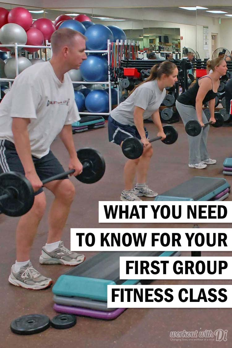 6 tips for your first group fitness class