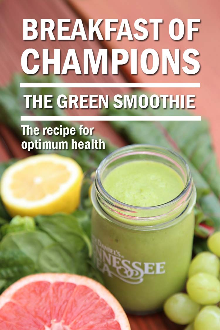 green smoothie recipe feat pin