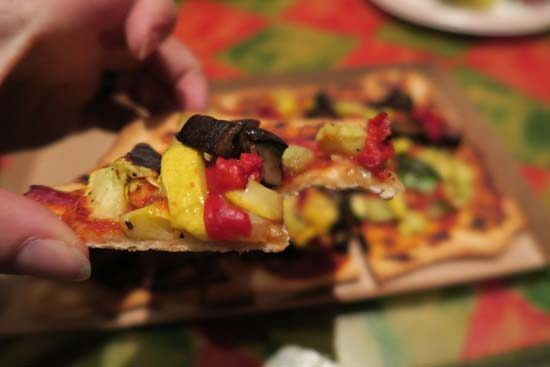 vegan at disney world flatbread