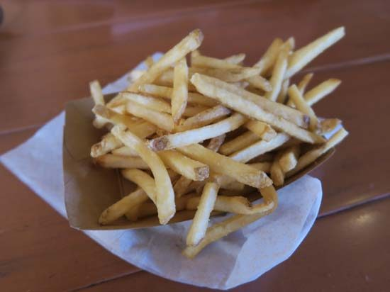 French fries from food vendor at Disney World