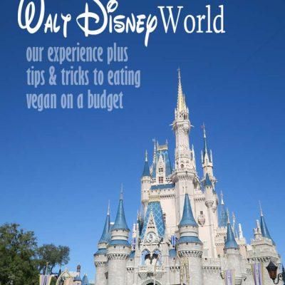 Eating Vegan at Disney World, tips & tricks