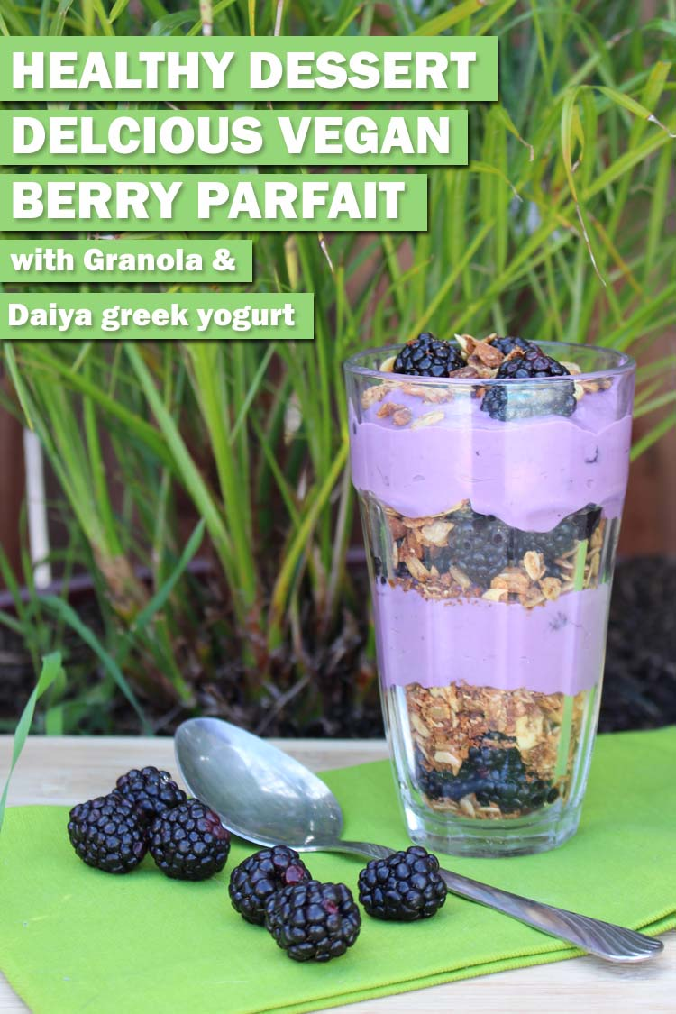 Delicious Daiya Berry Parfait Recipe