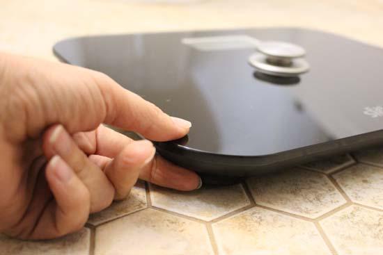 eat smart battery free digital bathroom scales