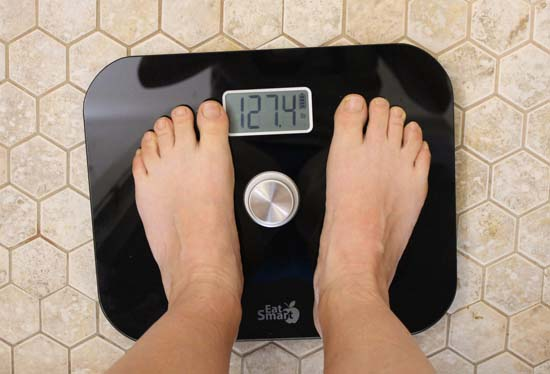 eat smart battery free digital bathroom scales