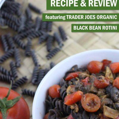 Trader Joe's Black Bean Pasta Bowl
