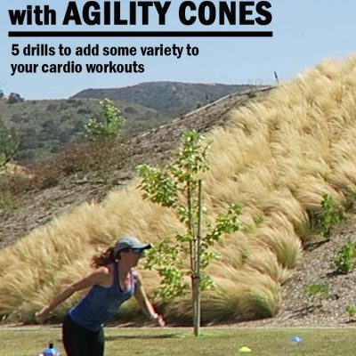 No more boring cardio, try Agility Cone Drills