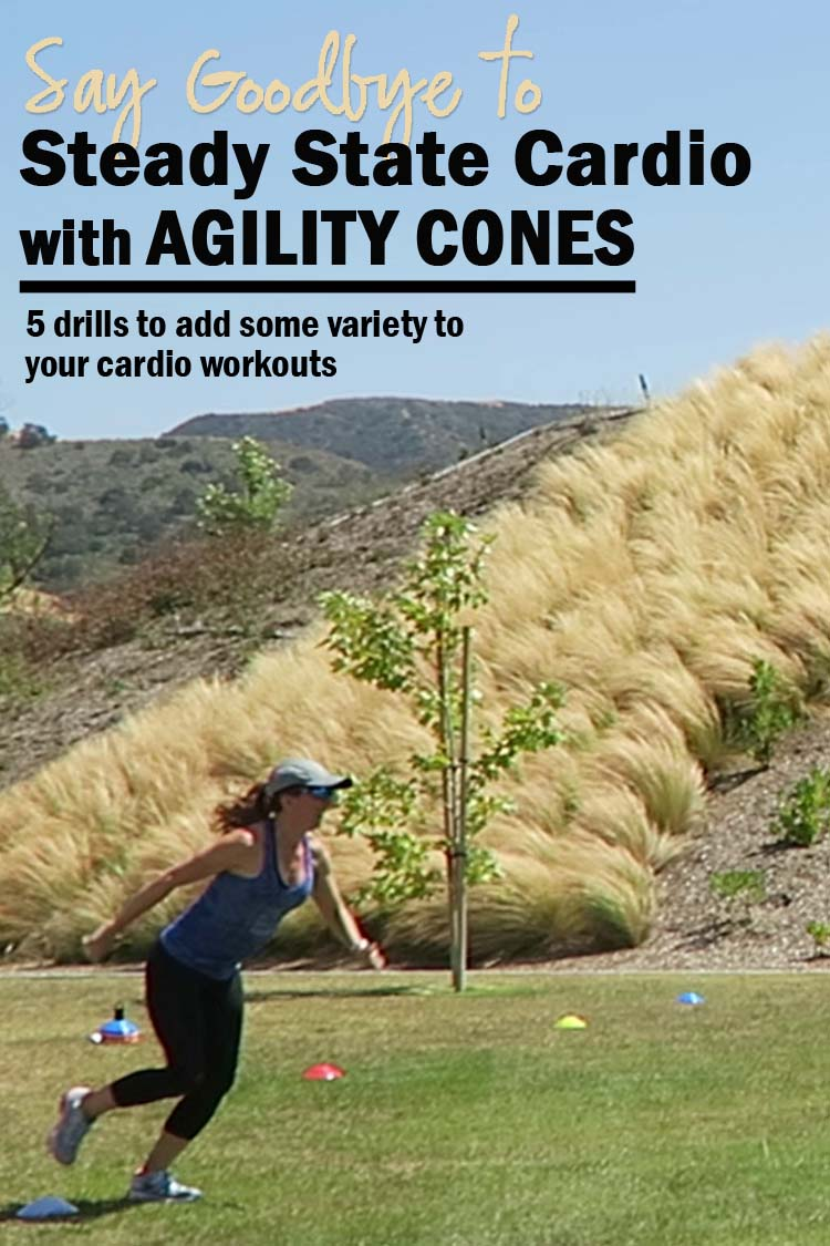 No more boring cardio, try Agility Cone Drills