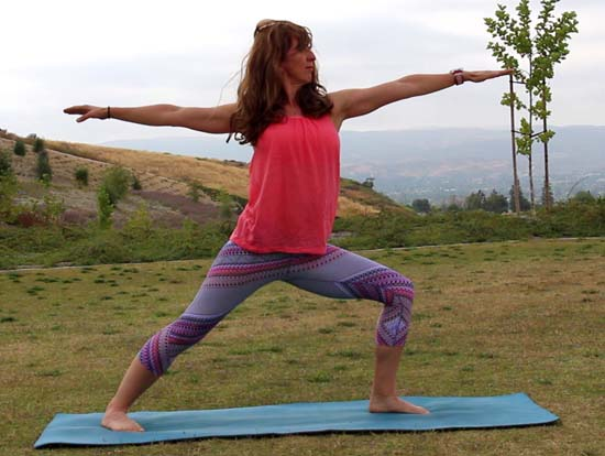 practicing yoga prAna