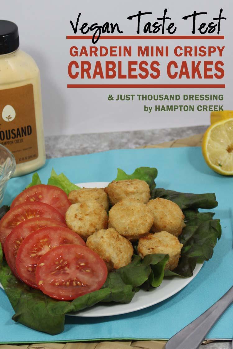 Vegan Taste Test: Gardein Crabless Cakes
