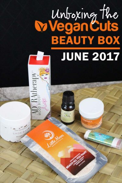 Vegan beauty box: recharge your body, mind and soul