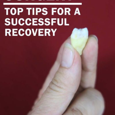 Wisdom teeth surgery, recovery and complications