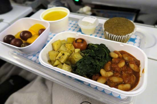 air new zealand vegan meals 2017