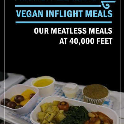 Air New Zealand Vegan inflight Meals