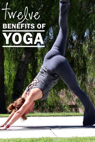 12 benefits of yoga