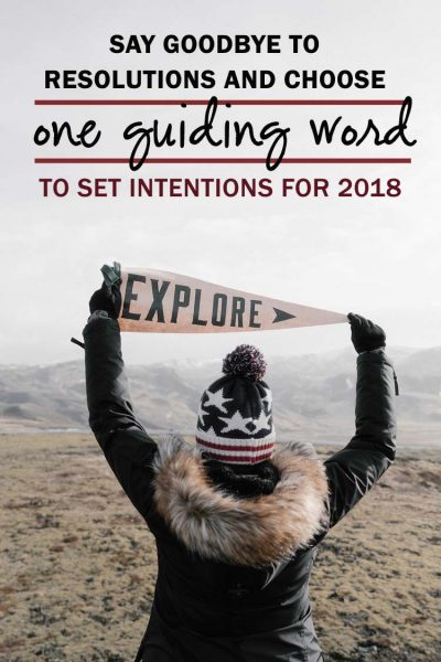 One Guiding Word 2018: Explore