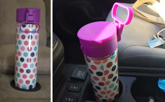 Personalize your water bottle with Glasstic