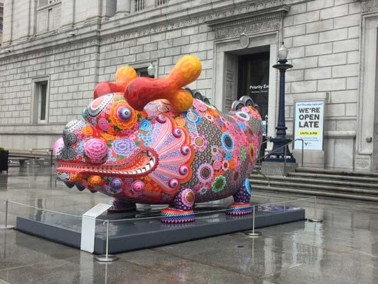 San Francisco Asian Art Museum vs MOMA