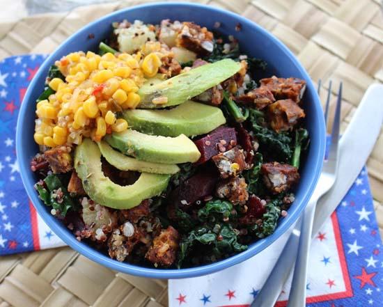 gardein southwestern quinoa bowl