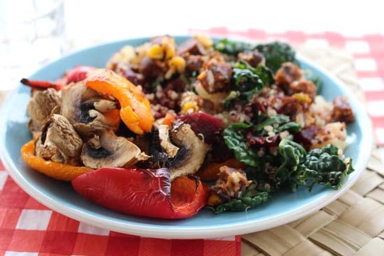 gardein southwestern quinoa