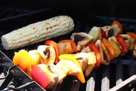 Gardein Teriyaki Chick'n & Vegetable Kebabs