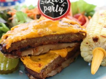 portabella pizza burger