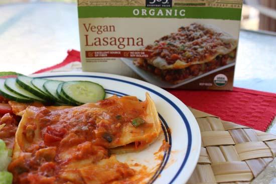 365 organic vegan lasagne