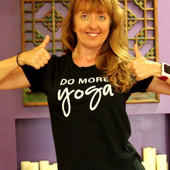 do more yoga t-shirt