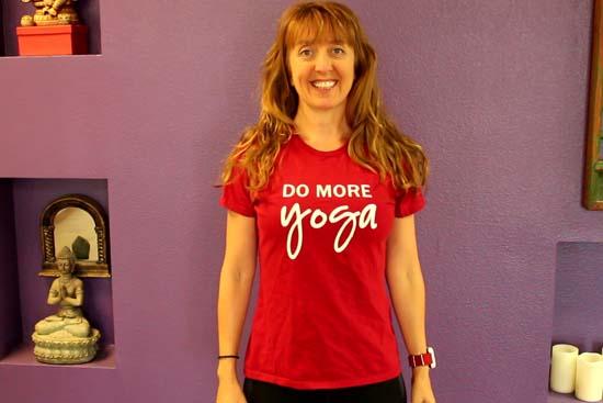 Do more Yoga T-Shirt!