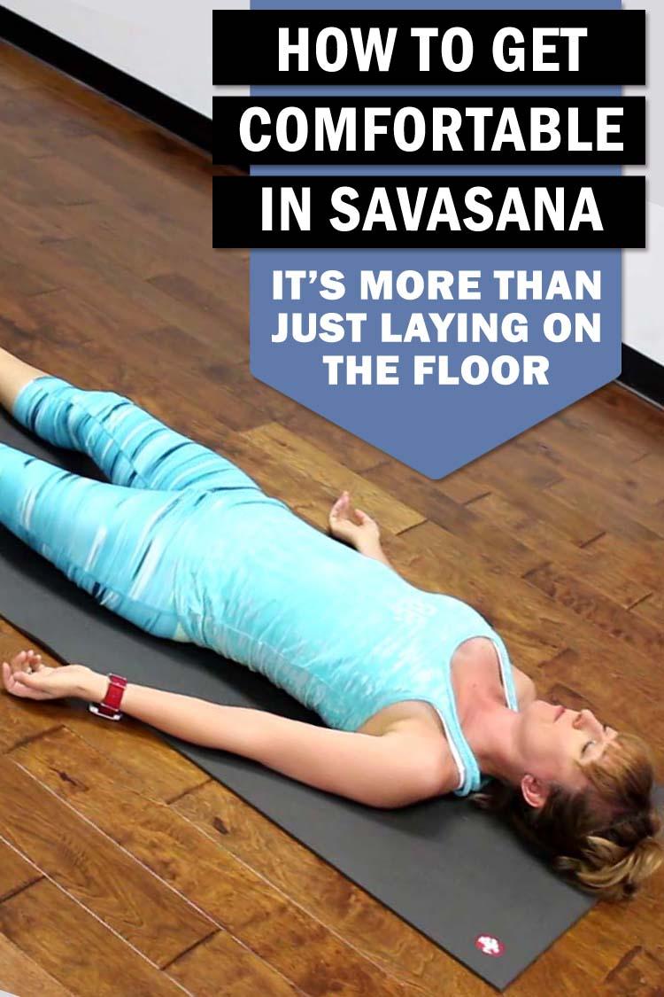 how to do savasana