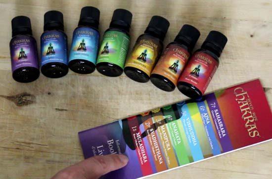 chakra essential oils