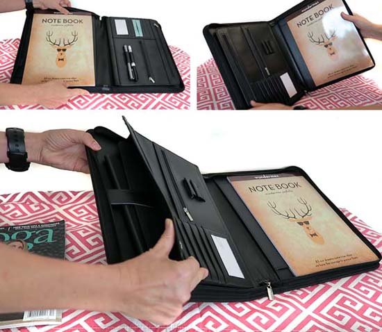 reduce clutter and gain focus - wundermax padfolio