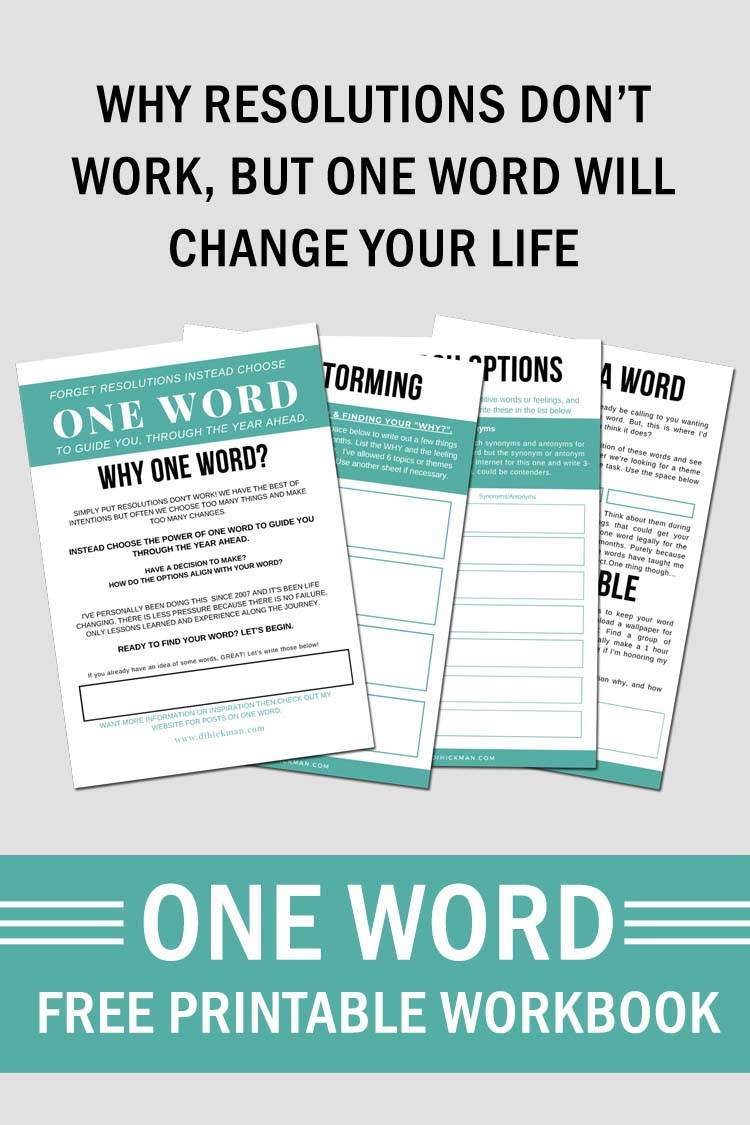 Since 2007 I've been choosing one word rather than resolutions. In this post I discuss my word for 2020 and how to make a vision board to reflect your word.
