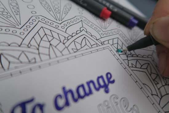coloring as meditation