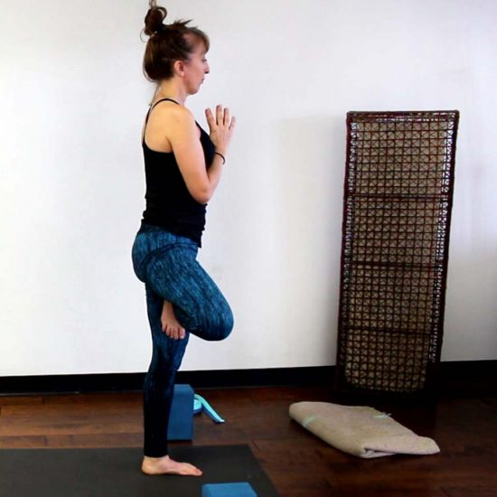 your first yoga class