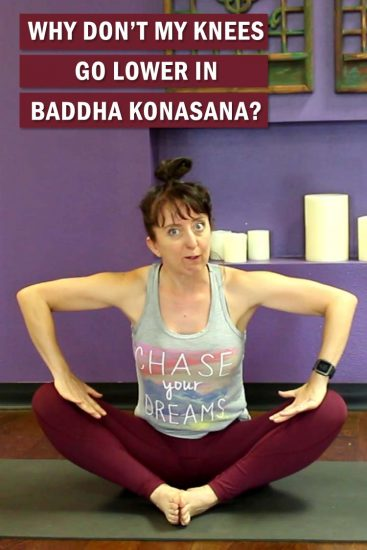 Tight hips? Let's talk baddha konasana, or butterfly pose. Common alignment mistakes, and the one thing you should NEVER do!