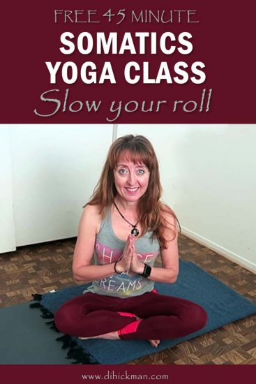 Relax, slow down, and do less. Notice your body and how it moves in this free 45 minute somatics yoga class. I presented this at the Yoga Expo January 2020.