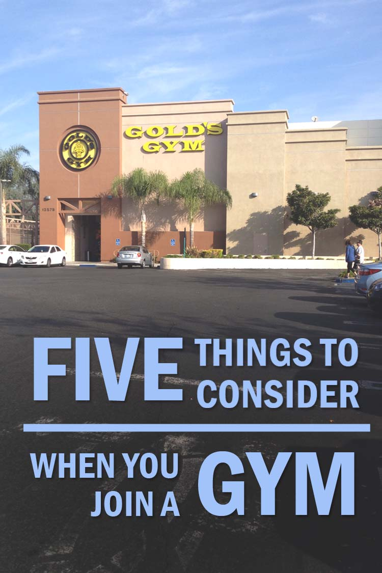 5 thngs join a gym