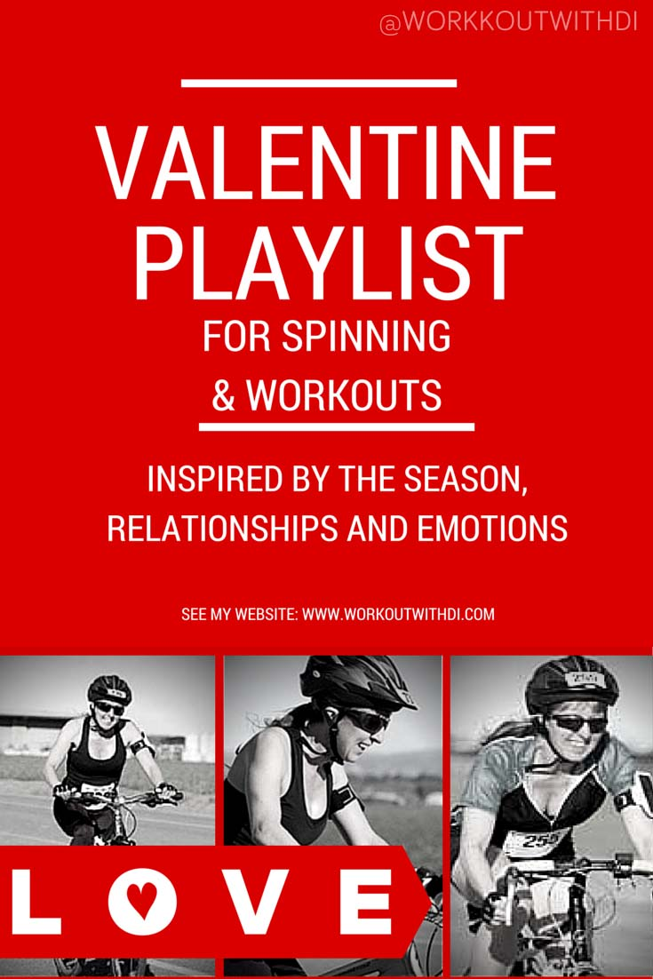 valentine themed workout playlist