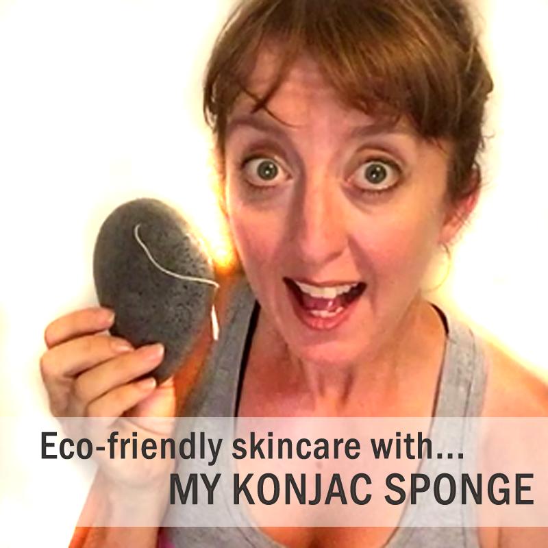 eco friendly skincare with my konjac sponge