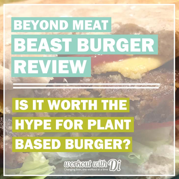 Beyond meat BEAST BURGER REVIEW