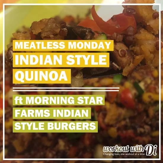 MORNING STAR FARMS INDIAN STYLE BURGER QUINOA