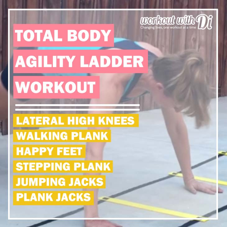 agility ladder cardio workout