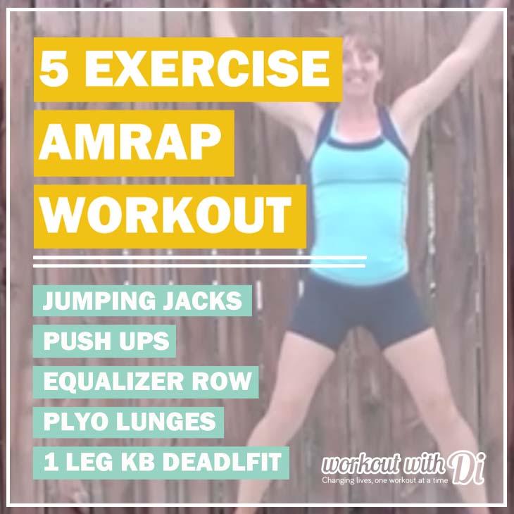 workout SEPTEMBER 2015 AMRAP HOME WORKOUT