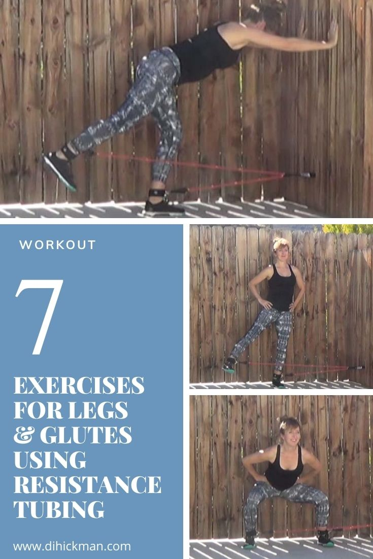 Sharing a few ideas of exercises using resistance tubing for the lower body. This video shares workout ideas using resistance tube or bands that you can do at home. Try this resistance tube leg workout at home to tone and shape the thighs and glutes. Resistance bands are the ideal workout for beginners to resistance training. Working out at home, park, yard, garage or gym. This is a great workout for me and women women wanting to tighten and tone.