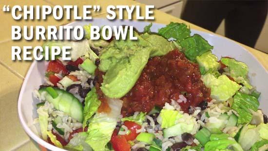 meatless monday chipotle burrito bowl recipe thumbnail